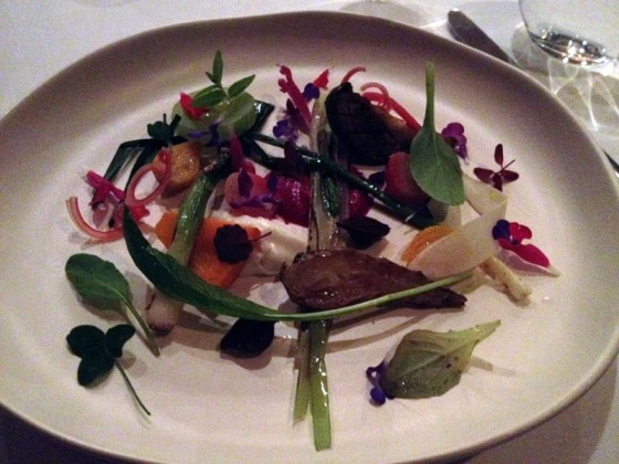 Course 5 (L) - Vegetables from the garden