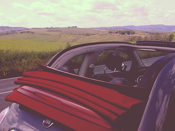 Top-down-cruising-Tuscany