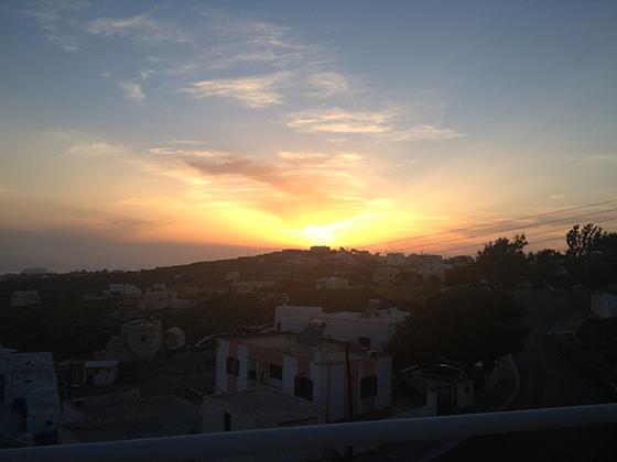 Selene Santorini Sunset